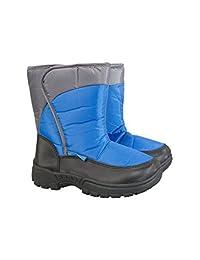 Mountain Warehouse Caribou Single Stripe Kids Snow Boot - Winter Shoe
