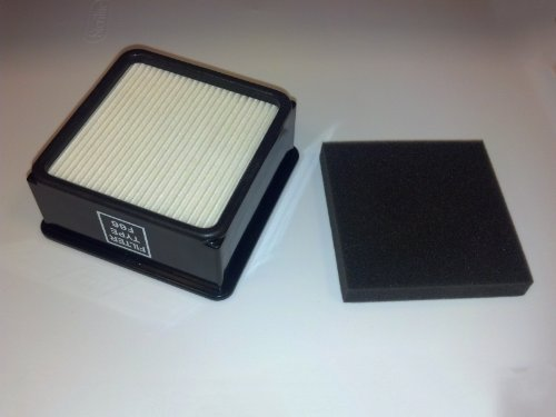 (Dirt Devil F66 HEPA Filter and Foam Filter Set for Dirt Devil UD70010 Uprights 304708001)