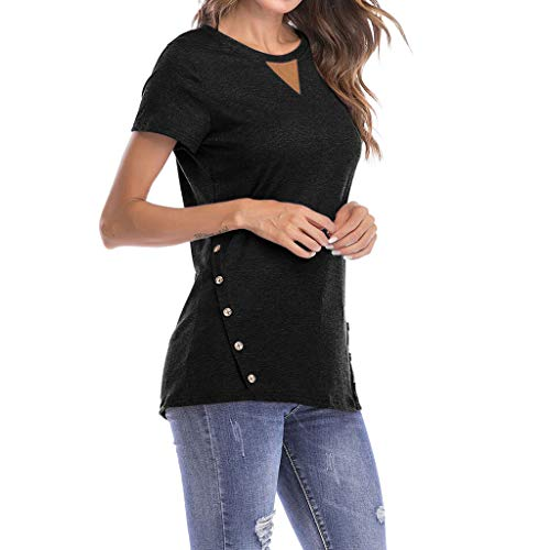 Used, TnaIolral Women's T-Shirt Tops Round Neck Short Sleeve for sale  Delivered anywhere in USA