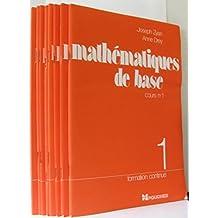 Mathématiques de base, formation continue (8 livrets)