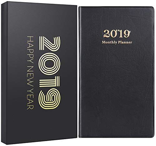 2019 Pocket Planner/Calendar - 2 Pack Pocket Mo...