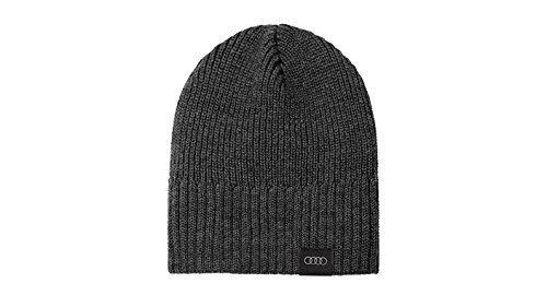 Audi original unisex knit beanie hat, grey, 3131701100 Audi Sport GmbH