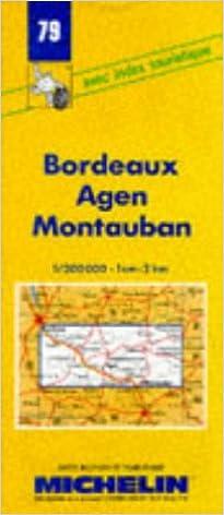 Carte Routiere Bordeaux Pau.Amazon Fr Carte Routiere Bordeaux Agen Montauban 79