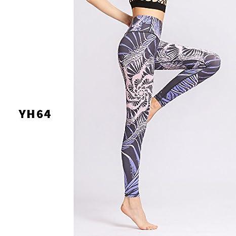 Amazon.com: jialele pantalones de yoga fina de verano hembra ...