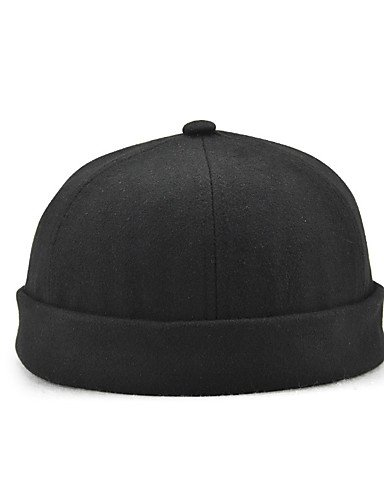 Seasons Ski ZYT Bowler Floppy Unisex HatVintage Classic All Beret Solid Style Cloche Fedora Beanie Hat Cotton Hat Black Hat Slouchy Hat Casual UOwUqA