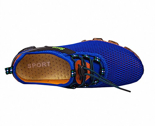 Ben Sports Mens Fashion Sneakers Running Shoes Blue Lg6qeG