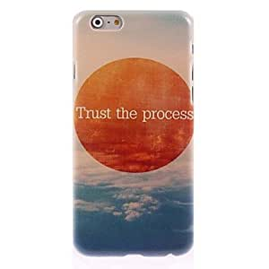 GOG Trust the Process Pattern Hard Case for iPhone 6 Plus