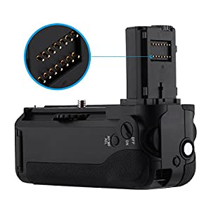 REEMPLAZO DE EMPUÑADURA DE BATERÍA PODER EXTRA VG-C1EM para Sony Alpha A7/A7S/A7R Cámara SLR digital Trabajar con batería NP-FW50