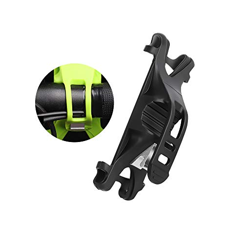 - Premium Bike Phone Mount Adjustable Silicone Bicycle Cell Phone Holder Handlebar Rack Compatible for iPhone X 6s 7 8 BLU Studio Mega Vivo XL4 Motorola Moto X G7 G6 Plus Galaxy S9 S8 (Black)
