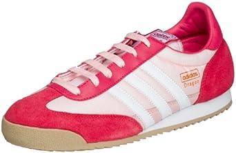 Cerebro Conflicto abrigo  Amazon.com | adidas Originals Women's Dragon Running Shoe,  Hula/Velocity/Wht, 5 M | Running