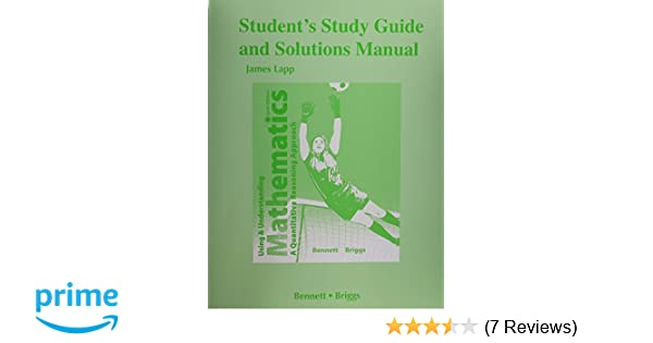 Bennet study guide array amazon com student u0027s study guide and solutions manual for using and rh amazon fandeluxe Image collections