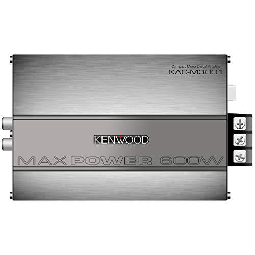 Kenwood KAC-M3001 600W Class D Monoblock Compact Digital Car//ATV//Marine Certified Amplifier