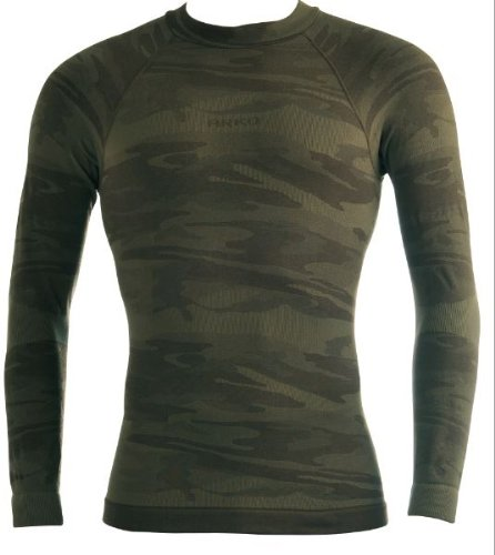 Vitalsox Men's Arko Drytherm DryStat Shirt, Camoflauge RS, Small/Medium - HF105M