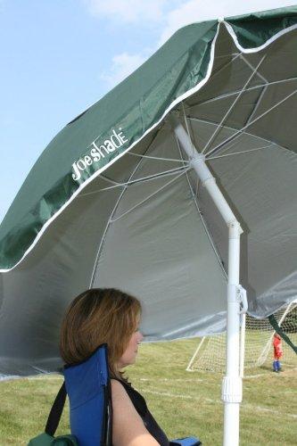 Joe Shade Portable Sports Umbrella Baseball Soccer Lacrosse GREEN, Outdoor Stuffs