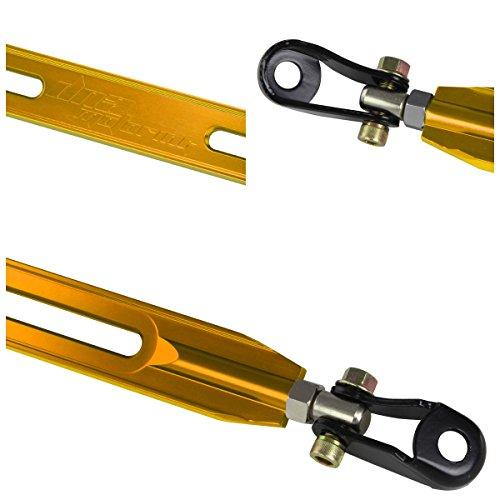 (For Honda Accord Rear Lower Aluminum Strut Bar (Gold) - CG)
