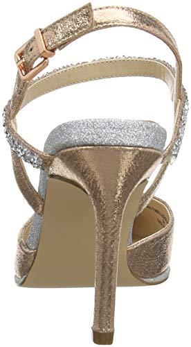 rose Mujer Coast Con Gold Zapatos Para Punta Iris Tacón 20 Pink Cerrada De KwwaAxqpv8