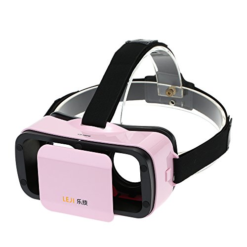 Docooler® LEJI VR MINI Virtual Reality Headset 3D Glasses for 4.5 to 5.5 Inches Android iOS Smart Phones