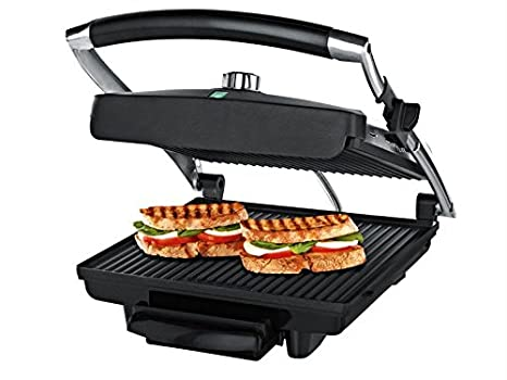 Panini-barbacoa parrilla sandwich-tostadora: Amazon.es