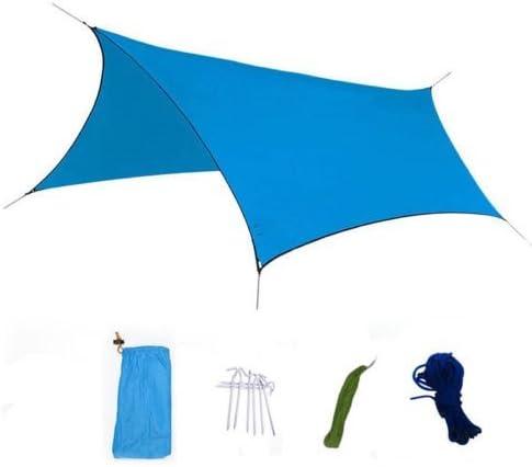 屋外防水ミリタリーキャンプテントタープサンシェルターレインカバーキャンプギア 2 pack