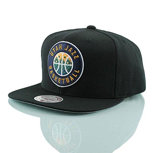 a680d063e92d Mitchell   Ness Utah Jazz Easy 3 Digital XL Snapback NBA Cap Black - Buy  Online in Oman.