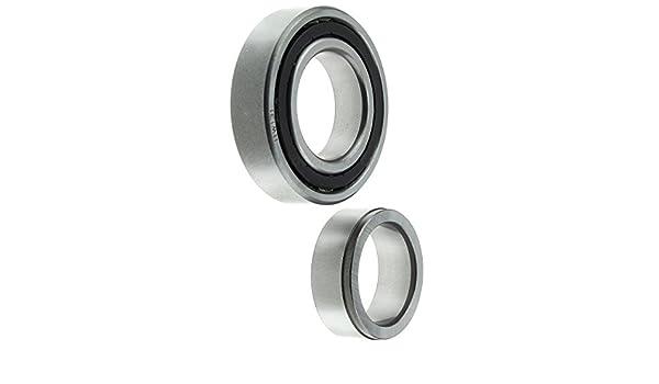 1800 808 RX-2 GLC 626 RX-3 Mizer 1pc 616 inMotion Parts Rear Wheel Bearing with Lock Collar IMPRW102R for Mazda 1200 R100 618 RX-7