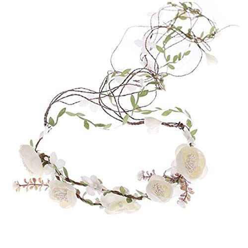 Ever Fairy Berries Flower Crown with Adjustable Vines