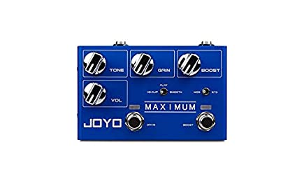 JOYO R 05 Maximum Overdrive Guitar Effect Pedal With 2 Fabulous Tones