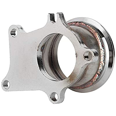 """Qii lu 5 Bolt to 3"""" V-Band Flange Turbo Adaptor Stainless Steel Adapter For T3/T4 Turbo: Automotive"""