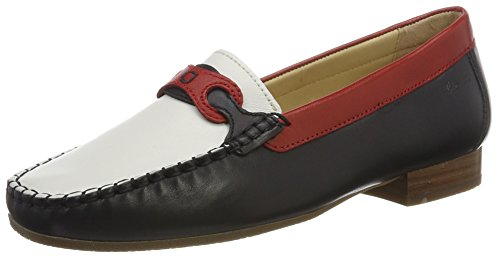 009 Multicolore Blu Rot Colina Sioux Mocassins Weiss Femme 151 8Ax7H