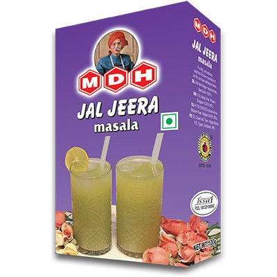 MDH Jal Jeera Masala - 100g / 3.5 oz (Pack of 2) by MDH