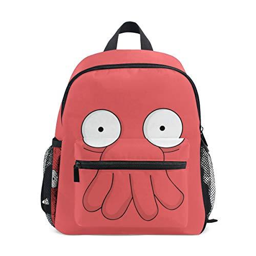 Futurama Doctor Zoidberg Kids School Backpacks Book Bags for Boys Girls -