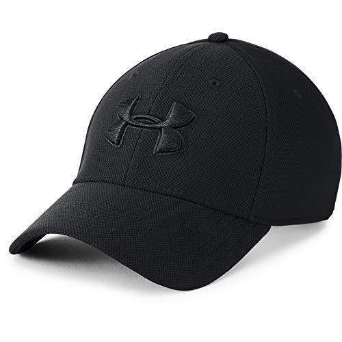 UNDER ARMOUR Men's Blitzing 3.0 Cap, Black (002)/Black, Large/X-Large