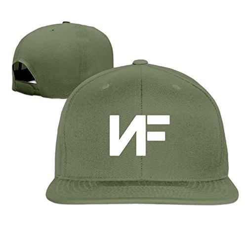 color NF fuente Cool béisbol hip Unisex Verde sombrero blanco de hop negro Y60YR