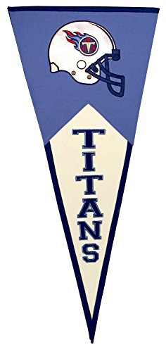 NFL Tennessee Titans Classic Pennants, 17.5'' x 40.5'', Navy by Winning Streak