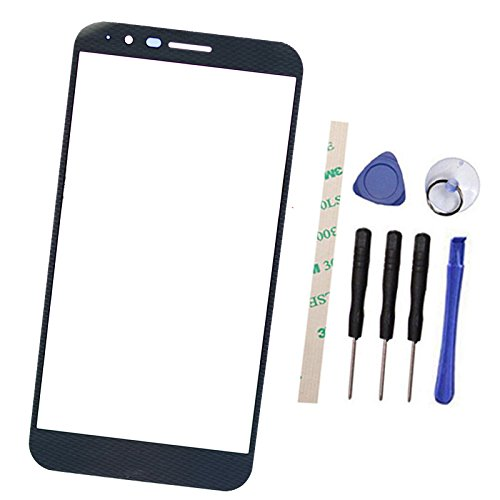 Price comparison product image Outer Screen Front Glass Lens Replacement For L G Stylo 3 Plus TP450 MP450 M470F / Stylus 3 Plus Titan Color