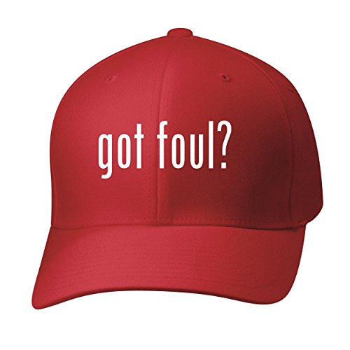BH Cool Designs Got foul? - Baseball Hat Cap Adult, Red, (Foul Weather Hats)