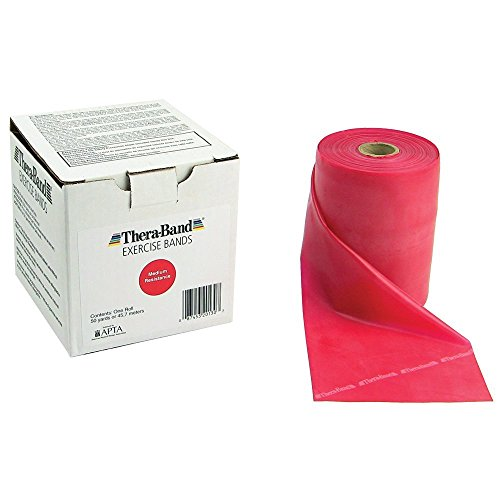 Thera-Band- 50 Yard- Red by Therapy Best Buys