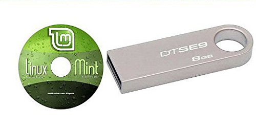 "Linux Mint 17.3 ""Rosa"" - On a Fast 8GB USB Flash Drive with DVD Included. by LinuxDiscOnline"