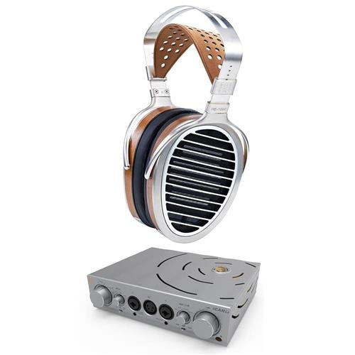 HiFiMan HE1000 V2 Planar Magnetic Open-Back Headphones - With iFi Pro iCAN Headphone Amplifier by HIFIMAN