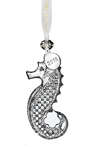 Waterford Annual Crystal Ornament (Seahorse Ornament 3.6