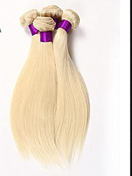 Amazon wigsforyou7a russian blonde virgin hair weaves 1 pc amazon wigsforyou7a russian blonde virgin hair weaves 1 pc lot peruvian 613 human hair straight blonde remy hair extensions 8 28inch wholesale pmusecretfo Gallery