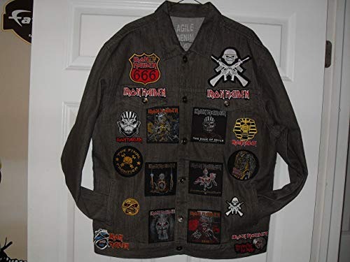 IRON MAIDEN Tribute JACKET - Iron Maiden Jacket