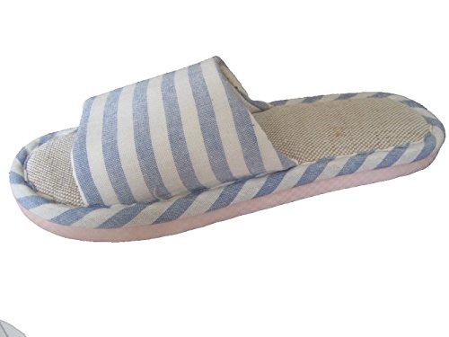 WJL lino pantofole uominidonne anti scivolo sandali fdi la casa