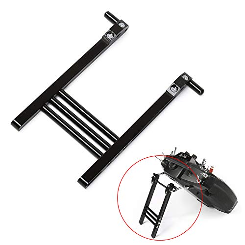 iFlight Aluminum Alloy TX Transmitter Stand Bracket Holder for RC Futaba JR Flysky Transmitter Remote Control (Black)