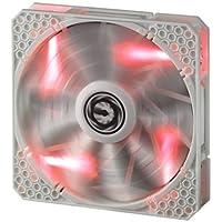 BITFENIX BFF-WPRO-14025R-RP / BitFenix Spectre Pro 140mm Red LED Case Fan (White)
