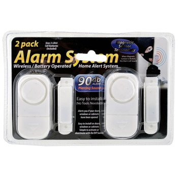 Window Alarm System (2 Pack 4 alarms)
