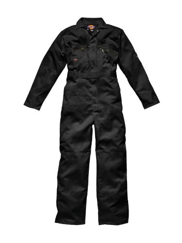 Dickies WD4839 Redhawk Overall with Zip Front, 36R, Orange WD4839 OR 36R