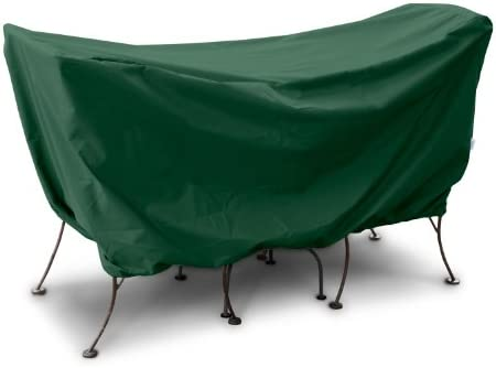 KoverRoos Weathermax 61540 3-Piece Cafe Set Cover, 60 by 30 by 30-Inch, Forest Green
