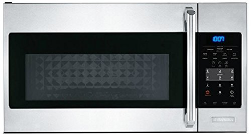 Electrolux EI30SM35QS Over-The-Range Microwave Oven, 1.5-Cubic Feet, Stainless Steel by Electrolux
