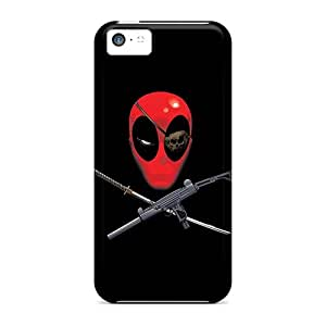 Slim Fit Tpu Protector Shock Absorbent Bumper Deadpool Pirate Cases For Iphone 5c